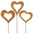 Metal Heart Sticks